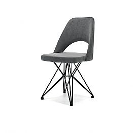 Design Chair with Tubular Steel Base Made in Italy, 4 Pieces - Lorenza