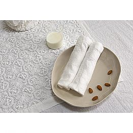 Table Napkins of Refined Design, 6 Pieces Made in Italy - Virtu