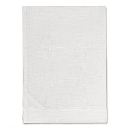 White or Natural Pure Linen Kitchen Towel Made in Italy - Blessy