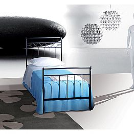 Wrought-iron single bed Efesto