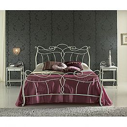Wrought-iron single bed Venere