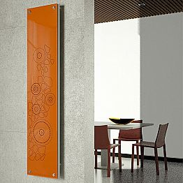 Modern decorative electric radiator New Dress made in Italy Scirocco H