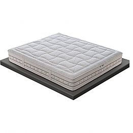 Single mattress in Quality Memory 25 cm high Made in Italy - Platinum
