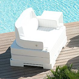 Modern floating pool chair Magnum Luxury by Trona, modern design