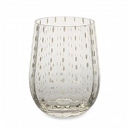 12 Colored and Modern Glass Glasses for Water Elegant Service - Persia
